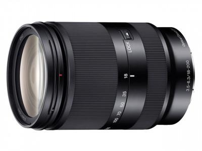 SEL E 18-200mm f/3.5-6.3 OSS LE BLACK (SEL18200LE)