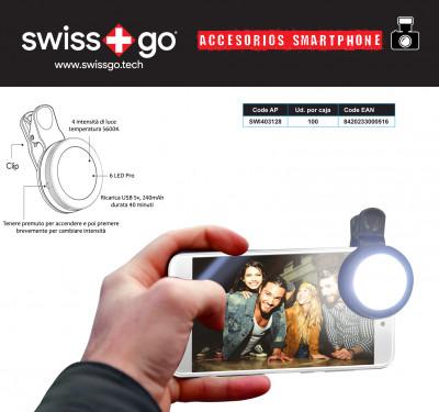SWISS-GO ILLUMINATORE PER SMARTPHONE LED