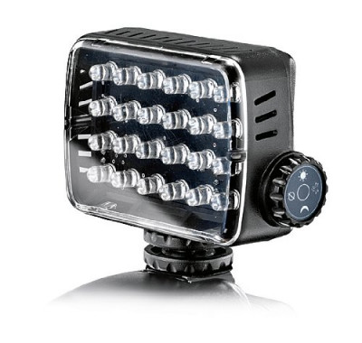 Manfrotto ML240 Mini 24-LED Camera Light Overview