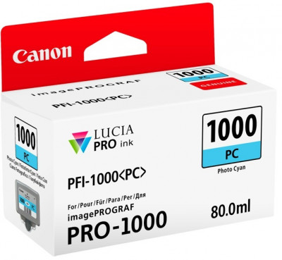 PFI-1000 PC PHOTO CYAN 80ML