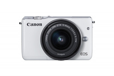 EOS M10 WHITE + EF-M 15-45mm (Gift Card euro 30,00)