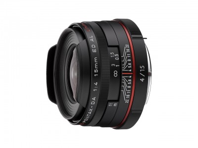 HD DA 15mm f/4.0 ED AL BLK - Limited Edition
