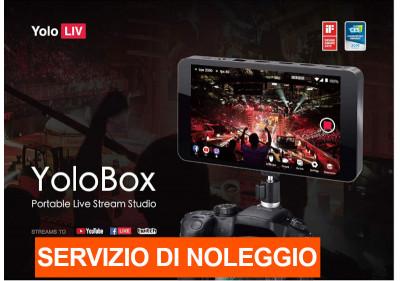 "YoloBox Livestream device 7"" touch screen"