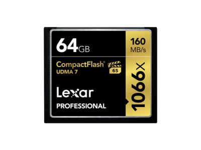 64GB 1066X PRO UDMA7 CF CARD