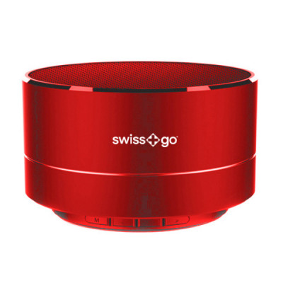 SWISS-GO BT-001 CLIO SPEAKER BLUETOOTH RED