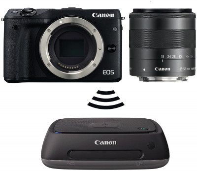 EOS M3 + EF-M 18-55mm IS STM + Connect Station CS100 (Gift Card euro 50,00)