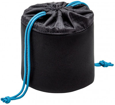 Soft Lens Pouch 3.5x3.5in  Black