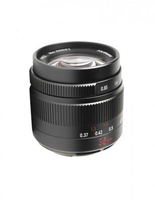 35mm f/0.95 x Micro Quattro Terzi