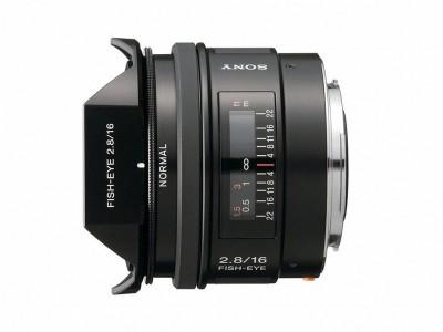 SAL 16mm f/2.8 Fisheye (SAL16F28)