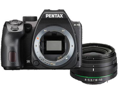 Pentax K-70 + 18-50mm