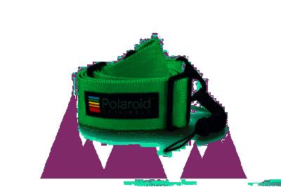 CAMERA STRAP FLAT - GREEN