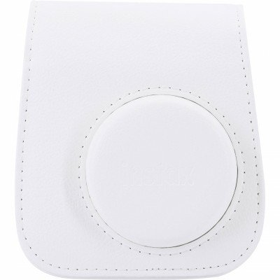 BORSA IN PELLE PER INSTAX MINI 11 ICE WHITE