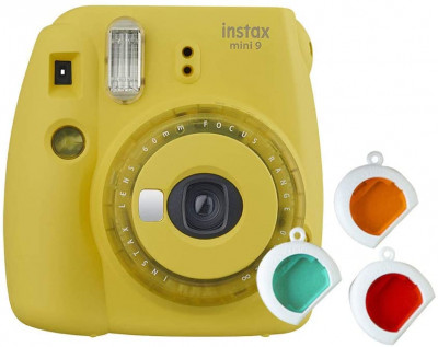 Instax mini 9 - yellow limited edition