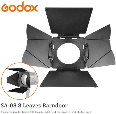 Alette Paraluce Barndoor 8 alette SA-08 per S-30