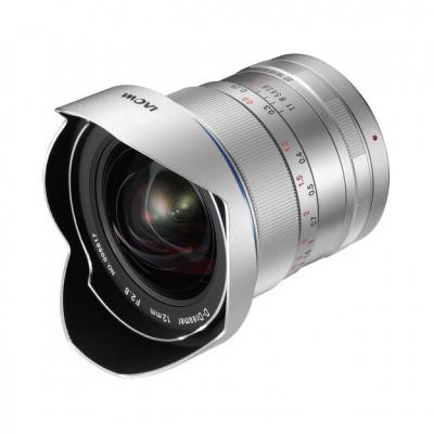 Venus Optics 12mm f/2.8 Zero Distortion per Canon EF argento