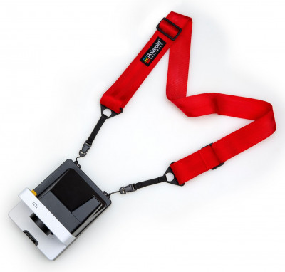 CAMERA STRAP FLAT - RED