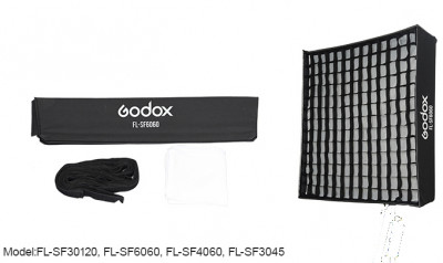 FL-SF SOFT BOX CON GRIGLIA 30X45 PER FL60