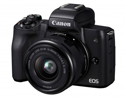 EOS M50 MARK II + EF-M 15-45 IS STM BLACK