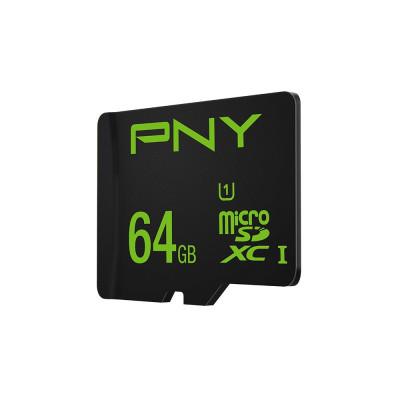 PNY SDU64GHIGPER-1-EF Scheda di Memoria MicroSDXC da 64 GB