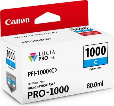 PFI-1000 C CYAN 80ML
