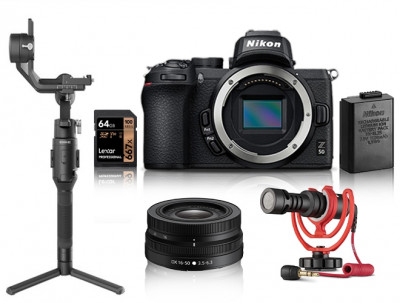 Z50 Gimbal Video Kit + SD 64 GB 667 Pro