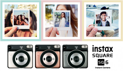 INSTAX  SQ 6 PEARL WHITE