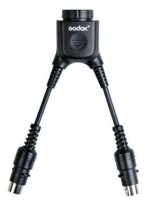 DB-02 Adattatore Cavo a Y per PB960 Doppia Carica per 1 Flash