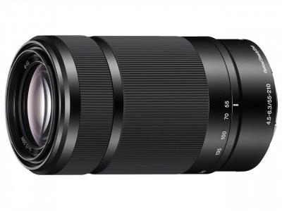 SEL E 55-210mm f/4.5-6.3 OSS Black (SEL55210B)