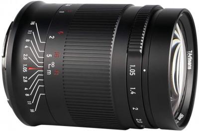 50mm f/1.05 Sony Full Frame
