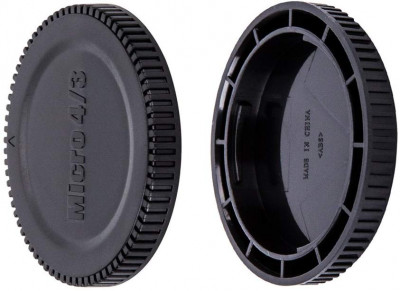 JJC tappo body+ lens Micro 4/3