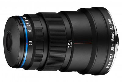 25mm f/2.8 SONY E-MOUNT SuperMacro 2,5:1 - 5:1