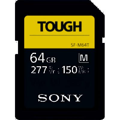 SD XC 64GB SERIE M TOUGH UHS-II U3 277MB lettura /150MB scrittura 4K